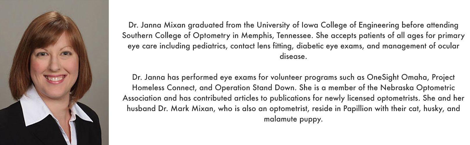 About Dr. Mixan